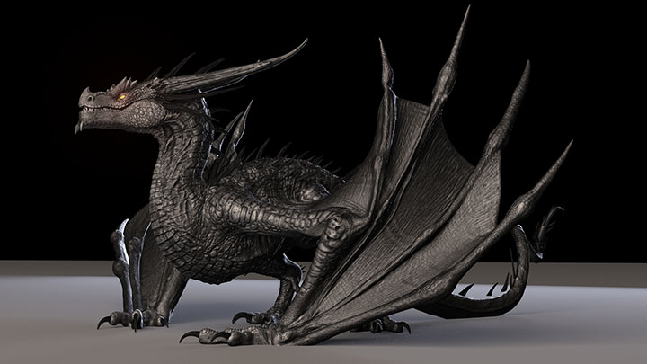 CG Artist Truong Chau Shares His Free Dragon Rig for Maya - Lesterbanks