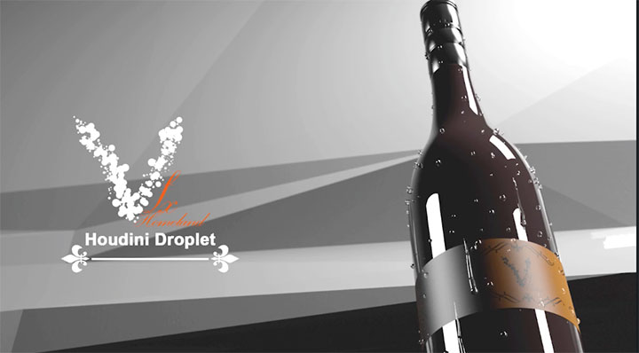 Create Dew and Drops With the Free Houdini Droplet Solver - Lesterbanks