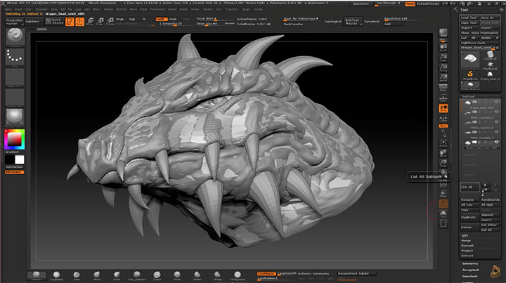 ZBrush to Maya to ZBrush Retopology Workflow - Lesterbanks