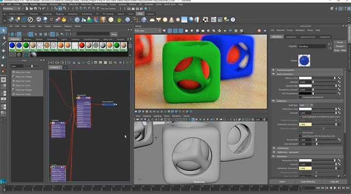 Getting Good Use Out of the V-Ray Switch Material - Lesterbanks