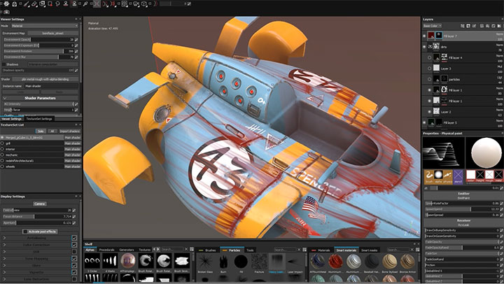How To Use Particles for Weathering in Substance Painter - Lesterbanks
