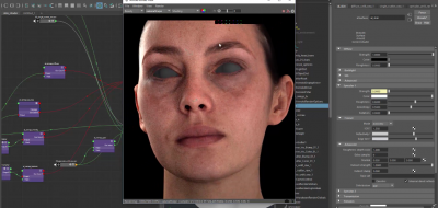 Creating a Production Ready Skin Shader using Arnold & Maya