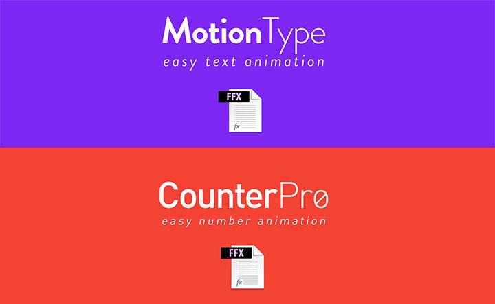 MotionType and CounterPro