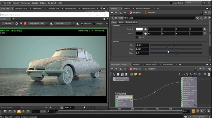 The Basics of VOP-Level Shader Building in Redshift - Lesterbanks