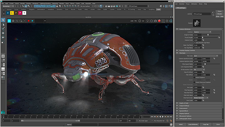 New VPR for Redshift Extends Maya's Native Render View