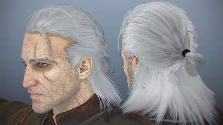 create geometry from xgen for game character hair