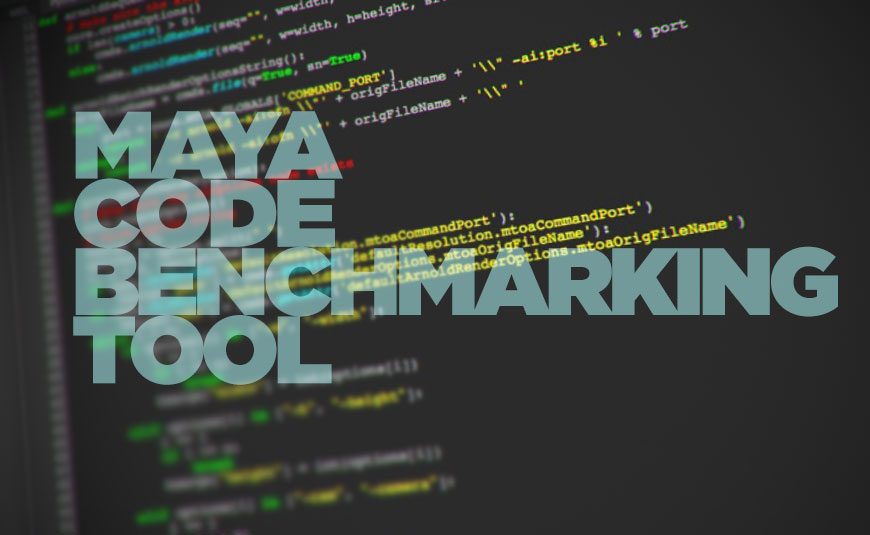 Revl helps to benchmark code for Autodesk Maya
