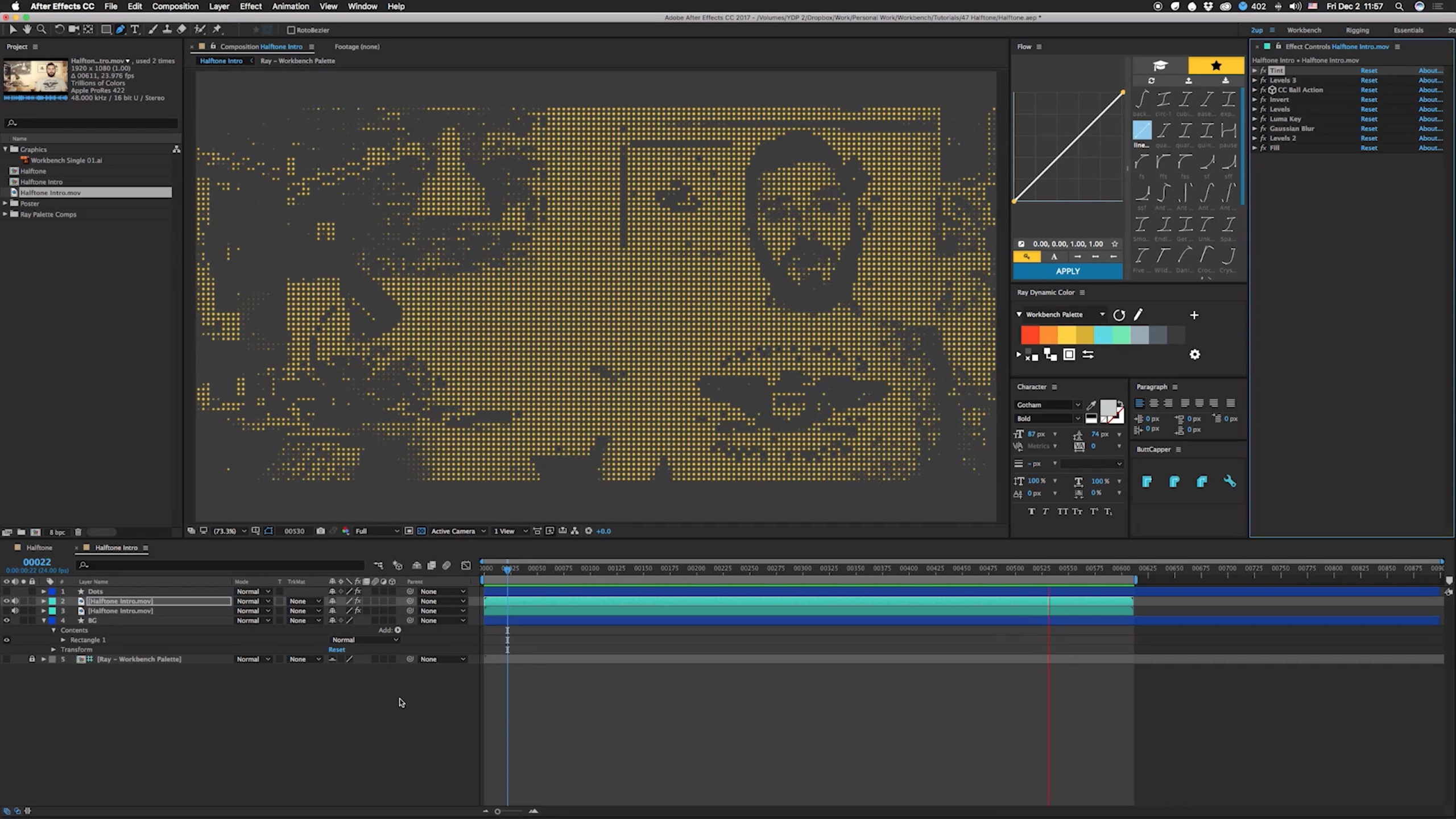 Create a quick and simple halftone effect in after effects create a quick and simple halftone effect in after effects lesterbanks baditri Images