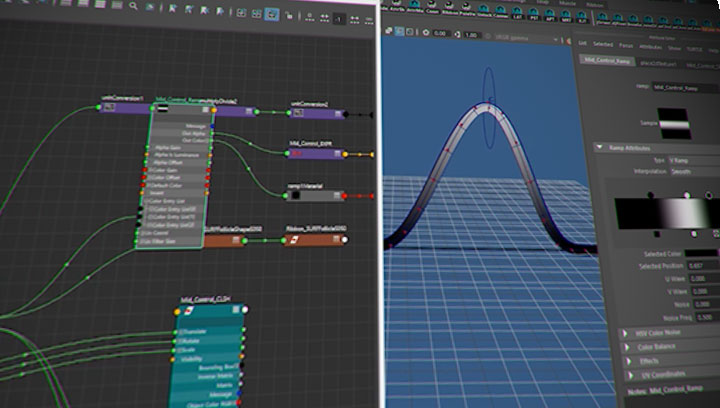Build a Dynamic Cluster for a Spline Rig in Maya - Lesterbanks