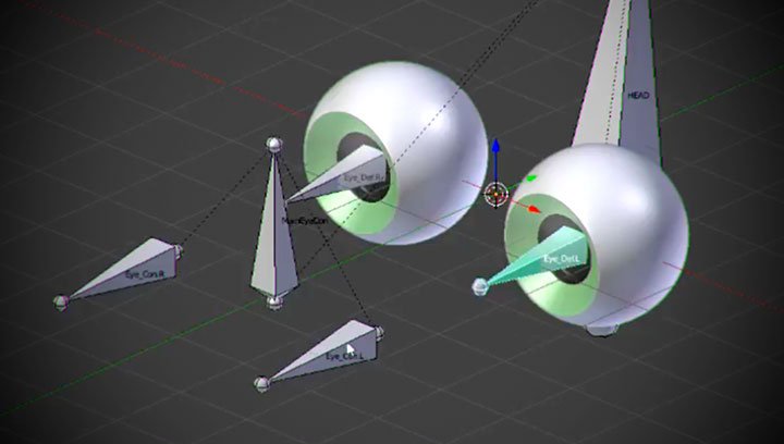 A Simple and Effective Way to Rig Eyes in Blender - Lesterbanks