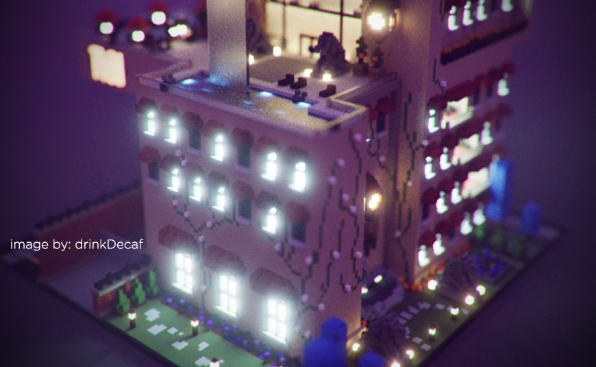 New MagicaVoxel Update Adds Bloom and Bokeh Effects - Lesterbanks