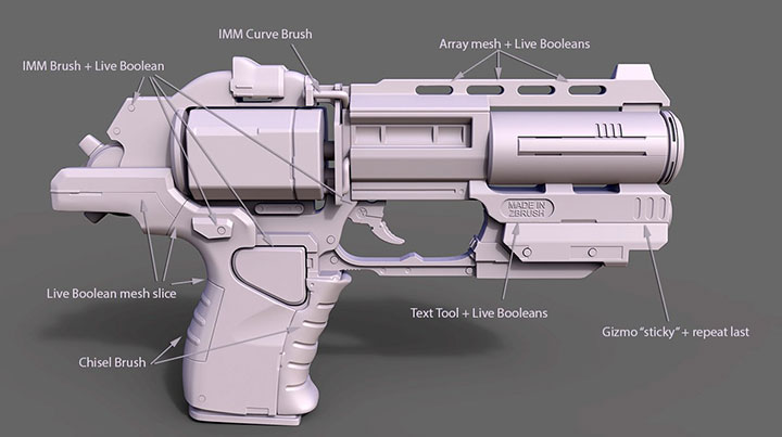 Michael Pavlovich Covers Every New Feature of Zbrush