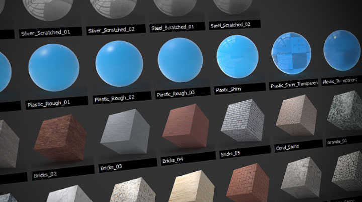 Base Offers a Set of 120 Every-Day Materials for Redshift Maya