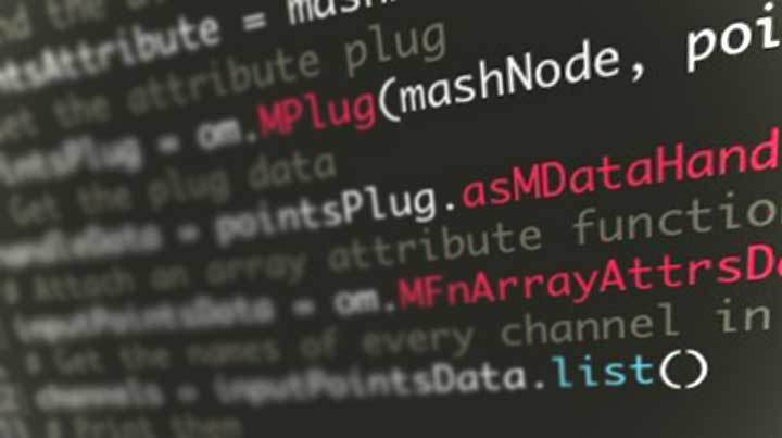 How to Access MASH Point Data Through the Maya API