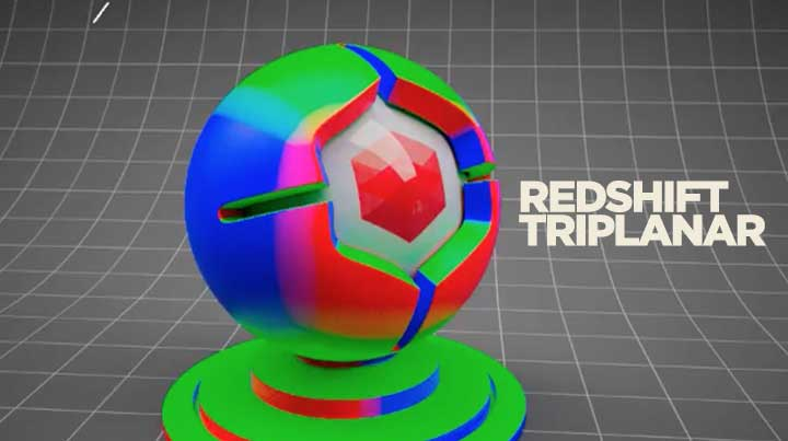 Working With Redshift's New TriPlanar Node - Lesterbanks