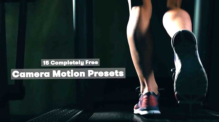 Download 15 Free Camera Shake Presets for After Effects