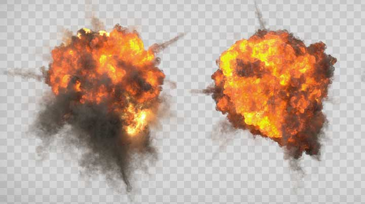 ActionVFX Launches New Stunning Explosions VFX Footage - Lesterbanks