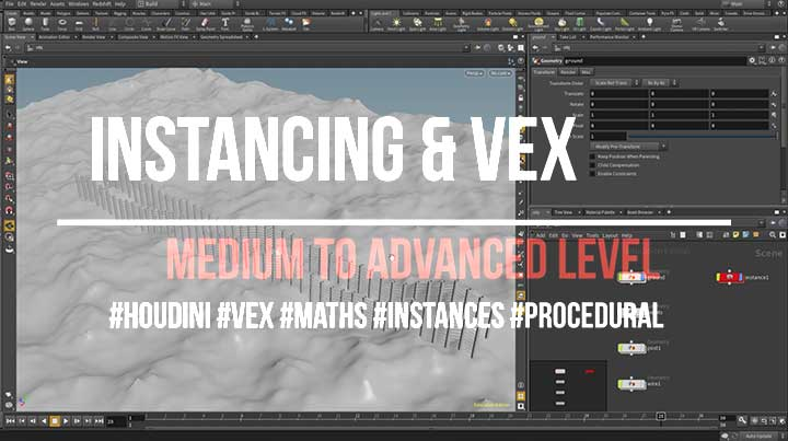 Advanced VEX Math for Procedural Modeling - Lesterbanks