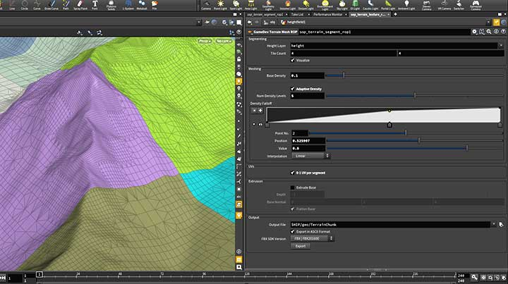 Houdini Terrain Conversion Tools for HeightField Terrains