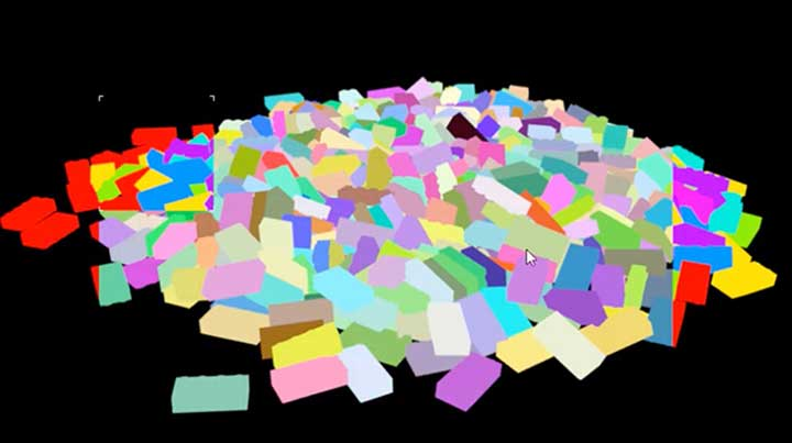 how to create color coded object ids with redshift lesterbanks