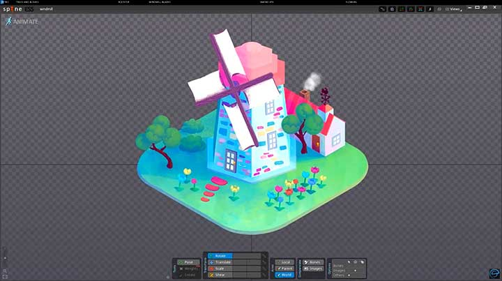 Tips and Tricks for Animating a Little Isometric Scene in