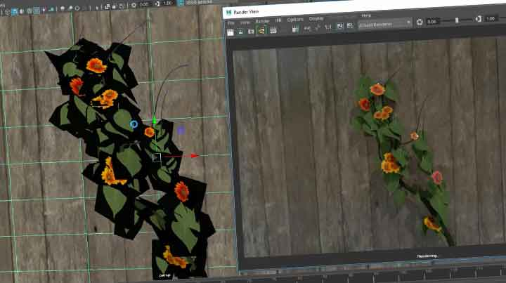 Creating Tangled Vines With Arnold and Maya - Lesterbanks