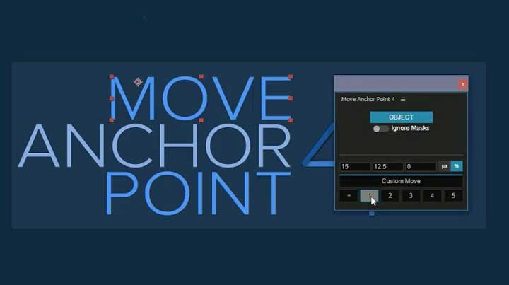 Move Anchor Point 4 for After Effects - Lesterbanks