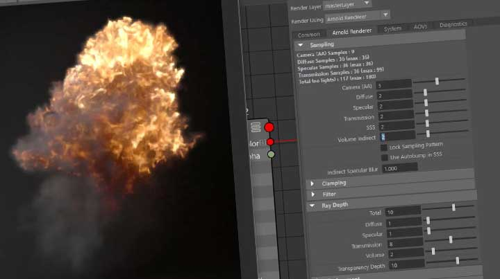 Rendering Explosions and Smoke With Arnold - Lesterbanks