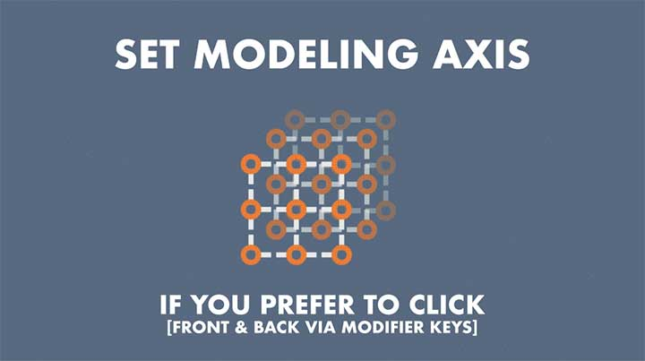 Set Modeling Axis in C4D with a Click