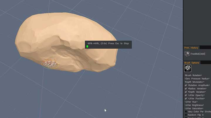 Create a Rock Kitbash Collection in 3D-Coat - Lesterbanks