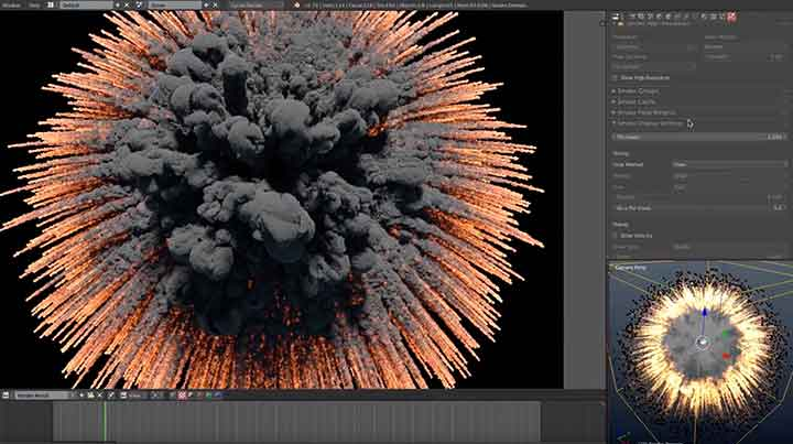 Creating Massive and Cinematic Explosions in Blender