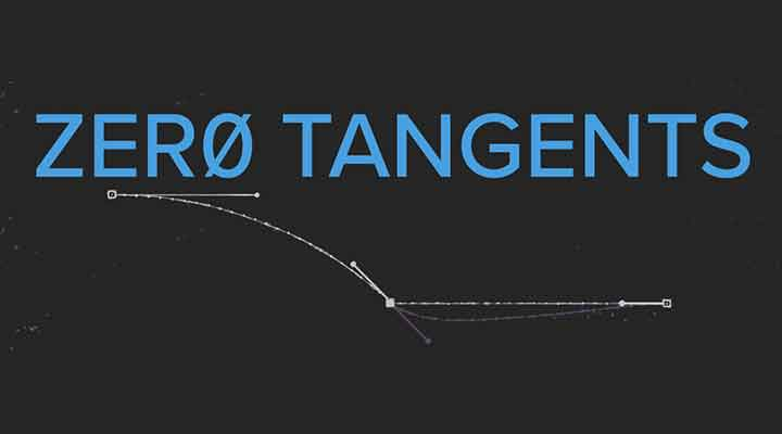 Easily Zero Out Path Tangents in Ae