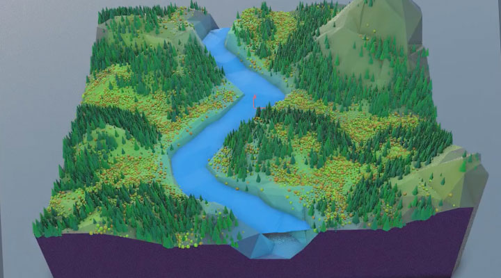 How to Create a Procedural Terrain With Houdini - Lesterbanks