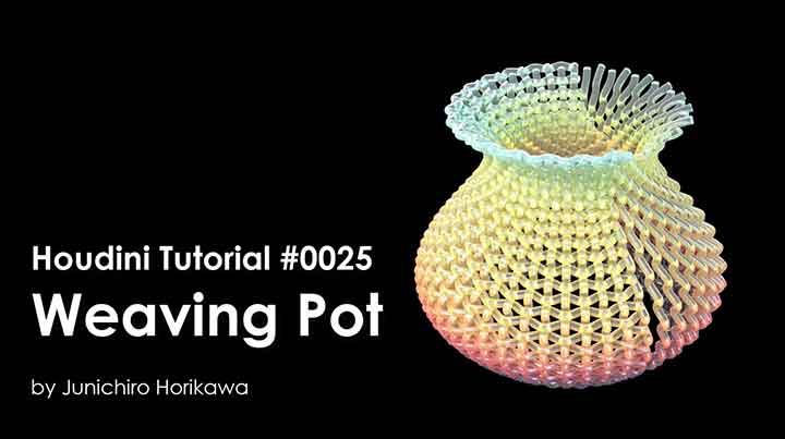 How to Procedurally Weave Objects With Houdini - Lesterbanks