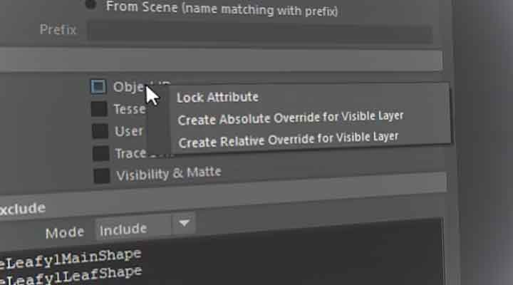 How to Override Redshift Proxy Parameters in Render Setup - Lesterbanks