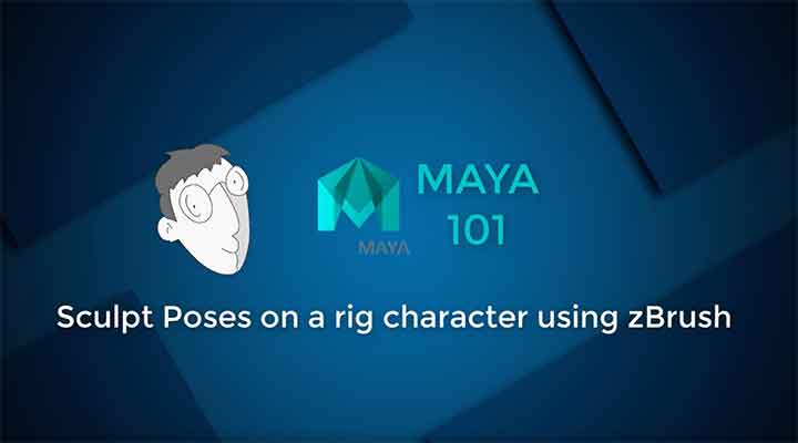 How to Apply Zbrush Sculpted Blend Shapes to a Maya Rig