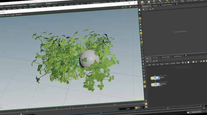 How to Auto-Rig and Simulate Plants in Houdini - Lesterbanks