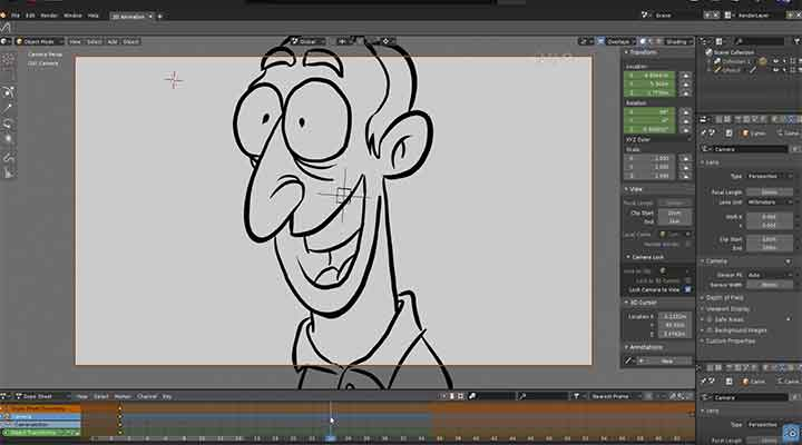 How to Get Started With Grease Pencil 2D Animation - Lesterbanks