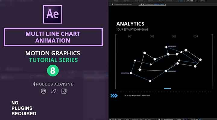 Animate a Multi-Line Chart With After Effects - Lesterbanks