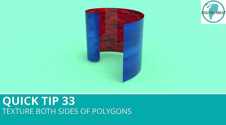Double Sided Textures Made Easy in Cinema 4D - Lesterbanks