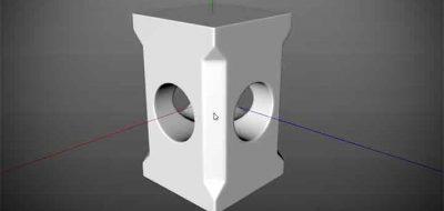 Modeling a Raised Diamond Pattern in C4D - Lesterbanks