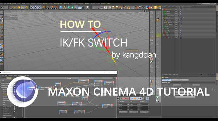How to Create an IK-FK Switch in Cinema 4D - Lesterbanks