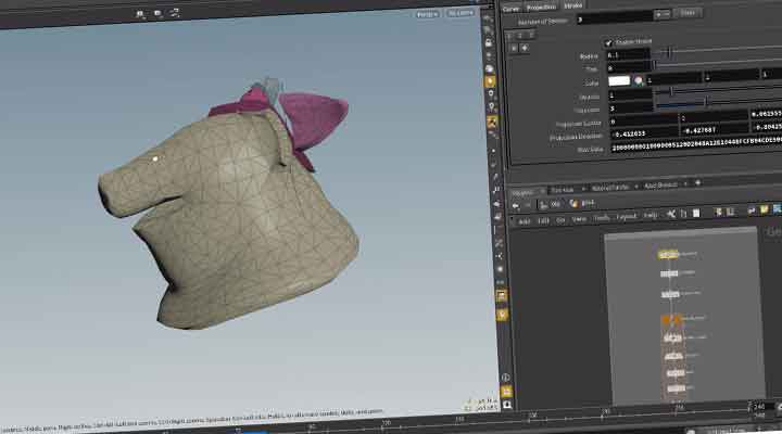 How to Create a Live Boolean Tool In Houdini - Lesterbanks