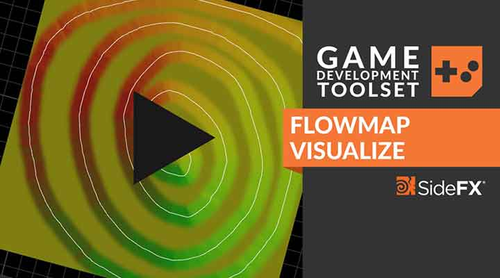 Working With Houdini's Flowmap Visualize Game Tools