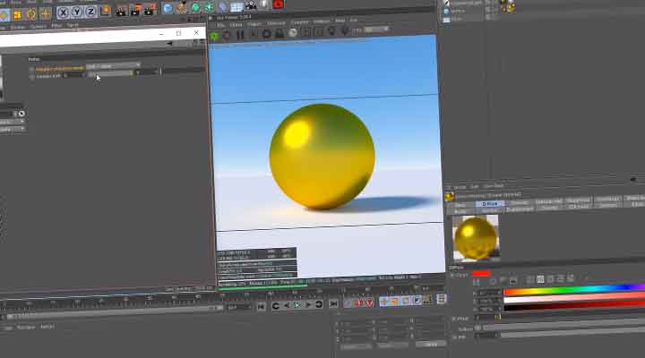 An Advanced Guide to Metallic Material in Octane C4D