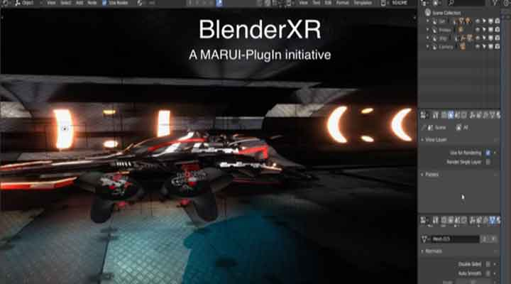 BlenderXR Project Will Bring VR Workflows to Blender - Lesterbanks