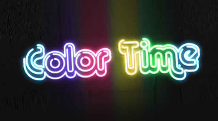 Easily Create a Neon Effect for Any Vectors in After Effects