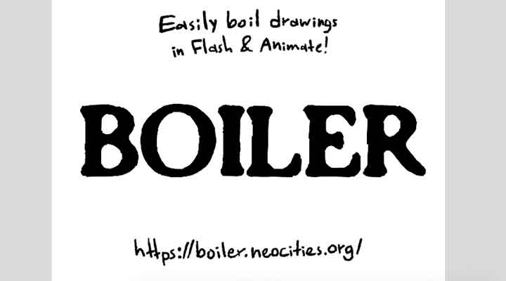 Free Boiler Plugin is a New Way to Animate Boil in Flash/Animate