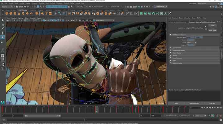 Maya 2019 Has Cached Playback for Better Animation - Lesterbanks