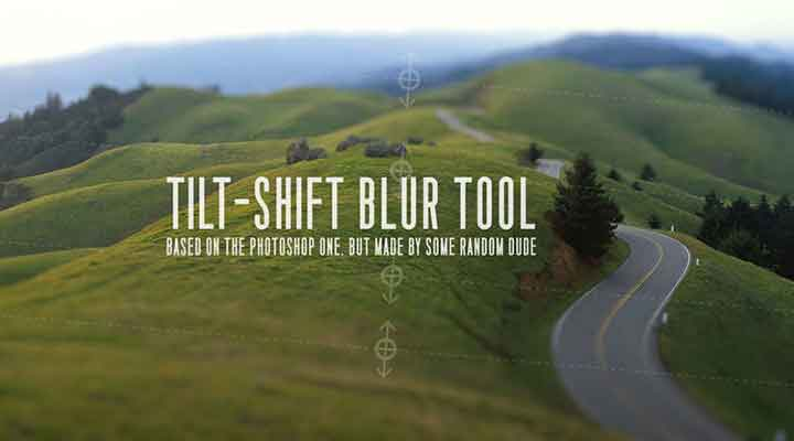Check Out this Free Tilt-Shift Tool for Ae